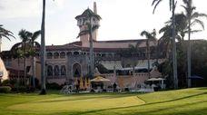 President Donald Trump's Mar-a-Lago resort is seen in