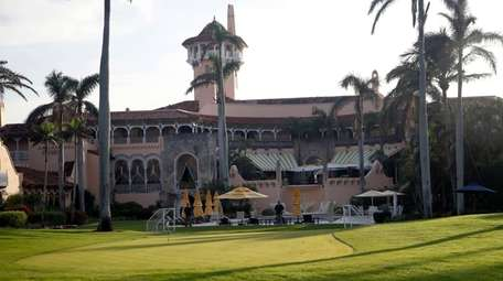 President Donald Trump's Mar-a-Lago resort is seen in
