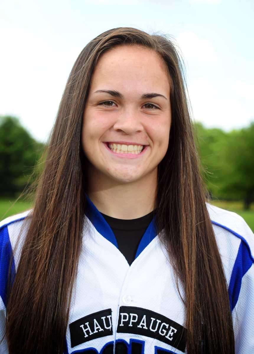 KRISTIE CAPUANO Hauppauge, Catcher, Sr. Broke school records