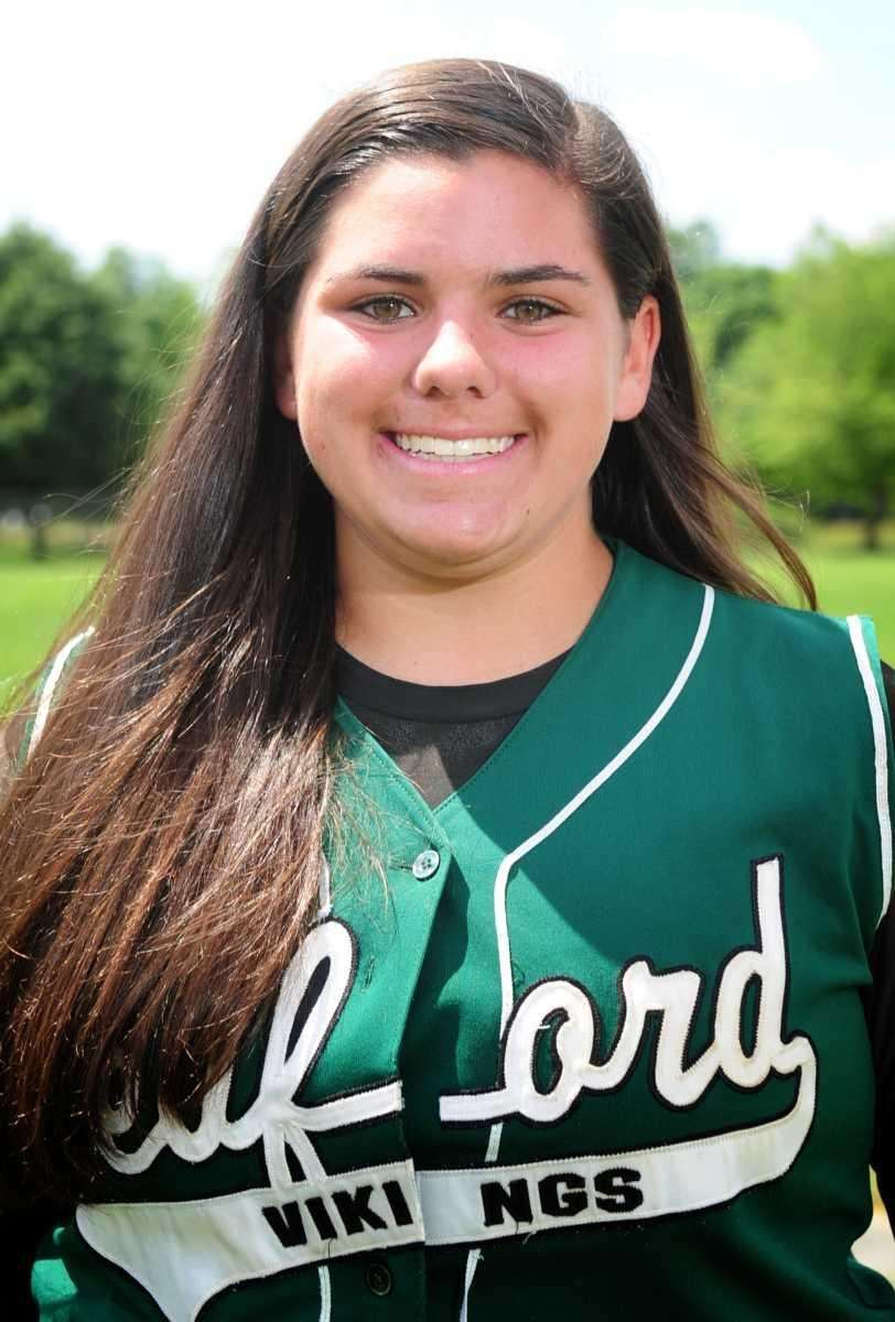 LINDSAY MONTEMARANO Seaford, Third Base/Pitcher, Soph. Her six-RBI