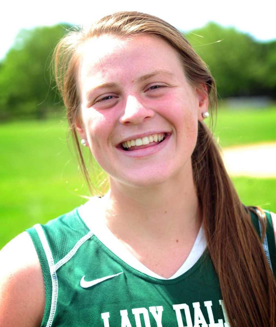 KELLY MCPARTLAND Farmingdale, Midfielder, Sr. Considered the best