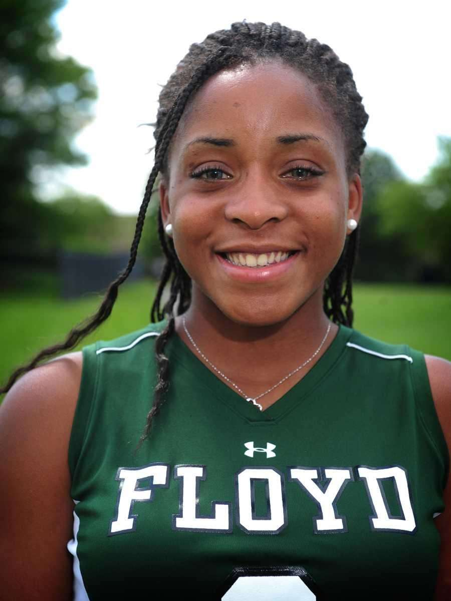 OCTAVIA WILLIAMS Floyd, Midfielder, Sr. A threat everywhere