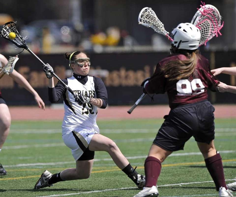 KERRIN MAURER St. Anthony's, Attack, Sr. The two-time