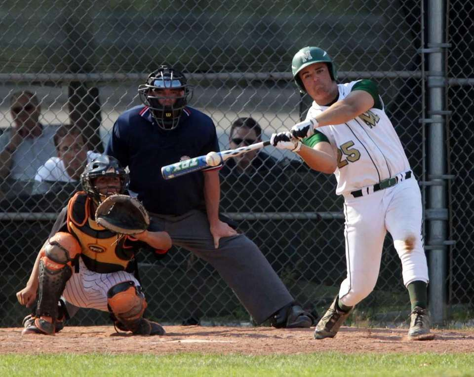 Mercy's Christian Lynch (25) with the single to