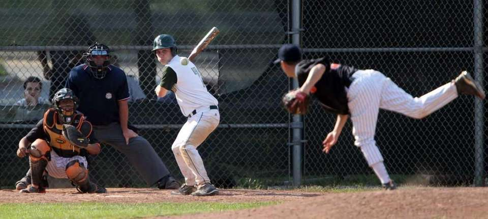 Mercy's D.J. Willmott (7) follows the pitch delivered