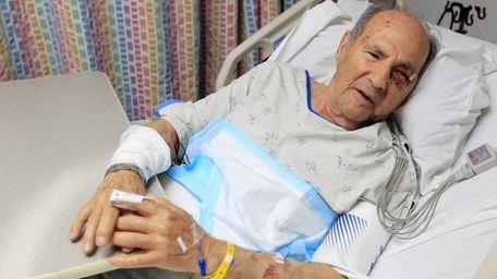 Benjamin Goldman recovers at North Shore University Hospital