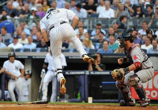 New York Yankees first baseman Mark Teixeira (25)