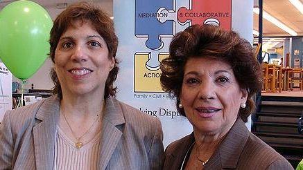 Rita Medaglio-Barrera and Gloria Ciolli