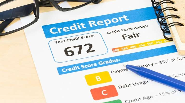Your credit score is based on several factors