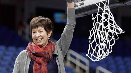 Notre Dame coach Muffet McGraw is hoping to