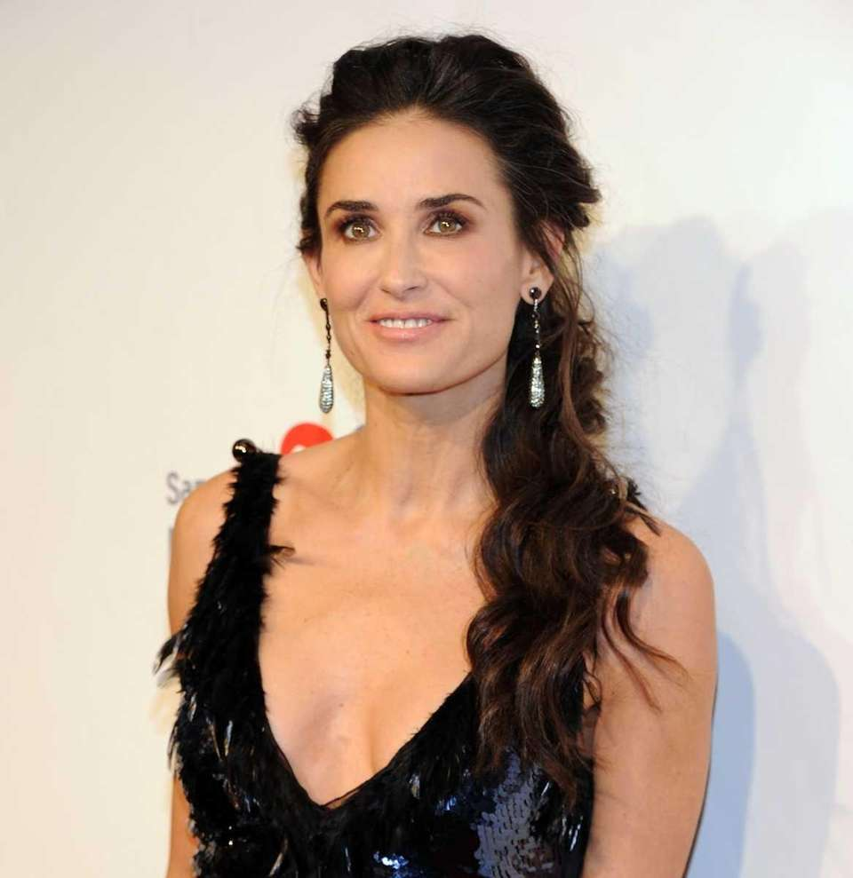 Demi Moore dropped out of high school at