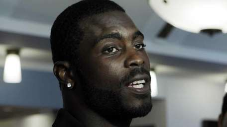 Eagles quarterback Michael Vick. (June 8, 2011)