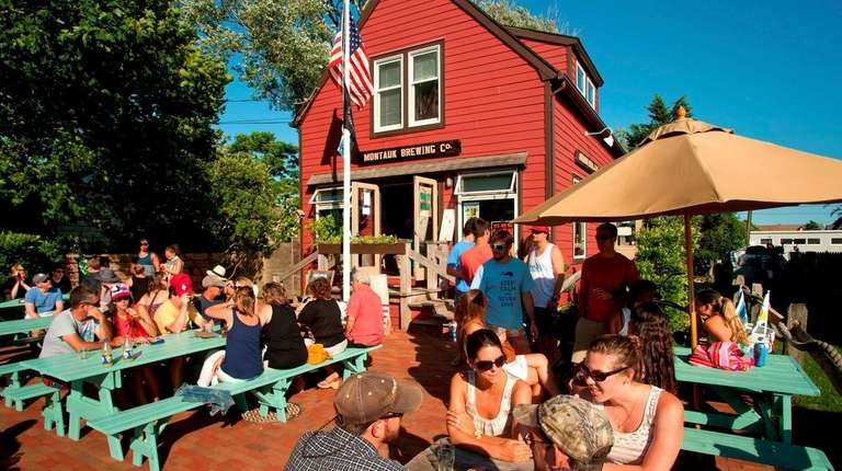 The Montauk Brewing Company on South Erie Avenue.