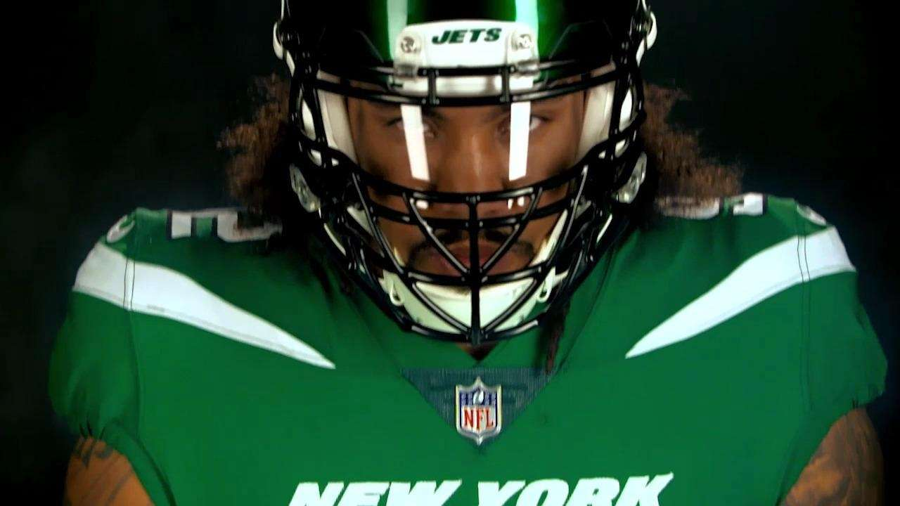 The Jets' new uniforms come in what the