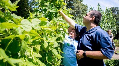ELIJA Farm in South Huntington employs young adults