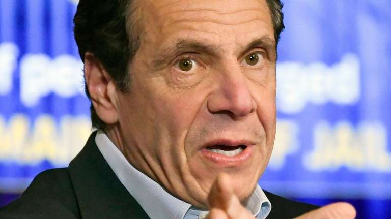 Gov. Andrew M. Cuomo speaks about the $175.5