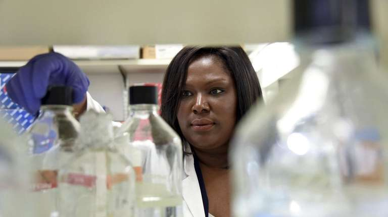 Leah Banks, a cancer researcher at Cold Spring