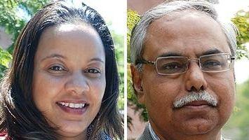 Dr. Lisa Blackwood and Dr. Nitin Kamdar