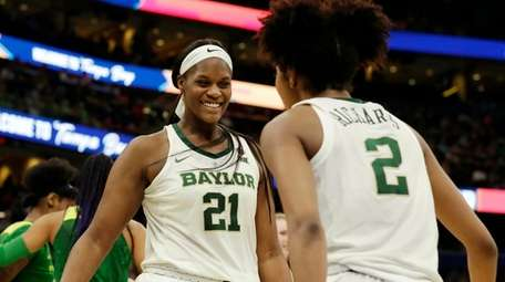 Baylor center Kalani Brown and guard DiDi Richards