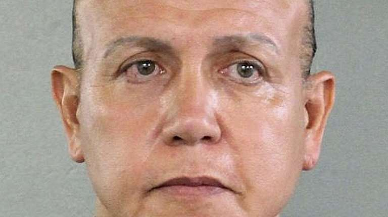 Cesar Sayoc admitted last month that he was