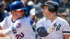 This Newsday composite image shows Mets first baseman