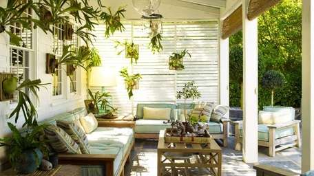 Steven Gambrel's Sag Harbor home is on the