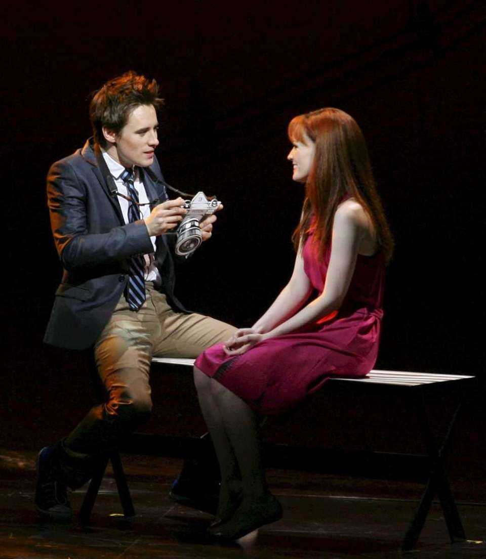 Reeve Carney as Peter Parker meets with Mary