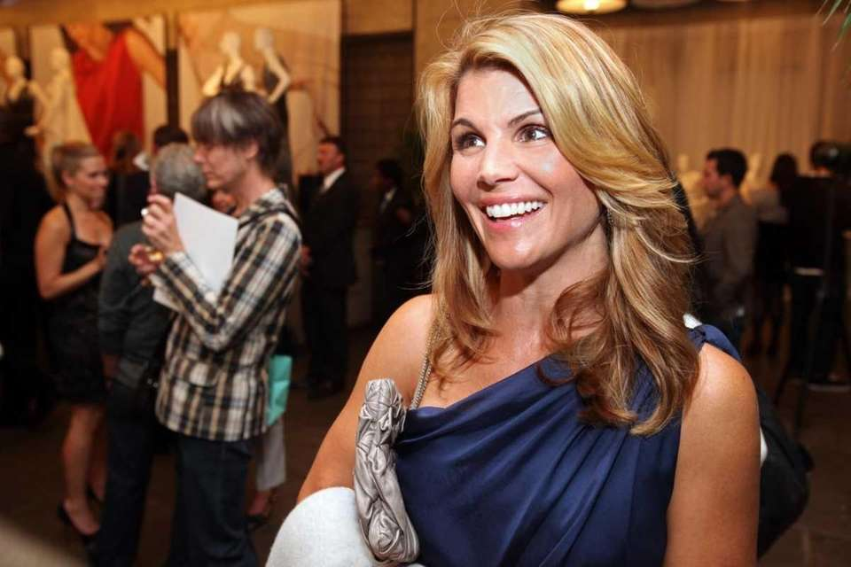 Actress Lori Loughlin, best known for playing the