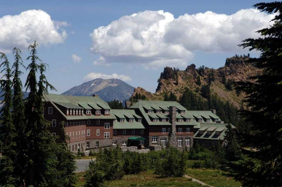 The 96-year-old Crater Lake Lodge in Crater Lake