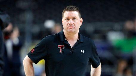 Texas Tech coach Chris Beard was the Red