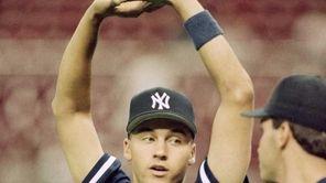Rookie Derek Jeter of the New York Yankees