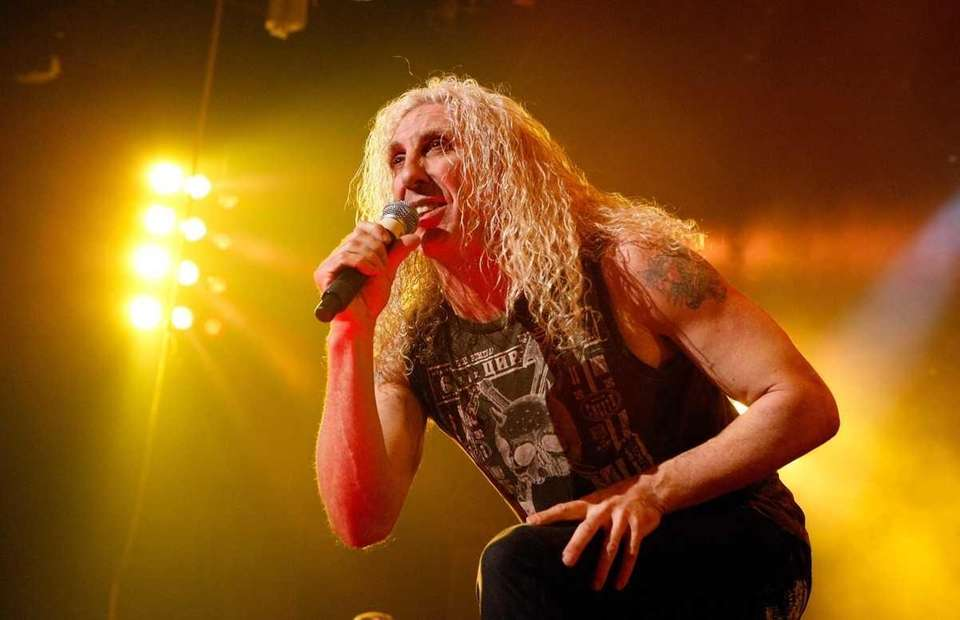 Dee Snider, lead singer of the heavy metal