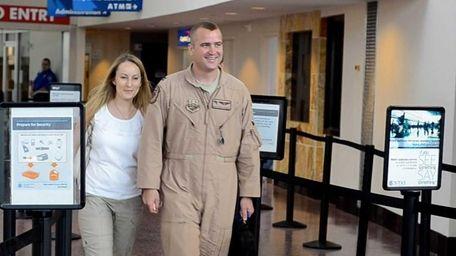 Capt. Matt Lohmer of the United States Air