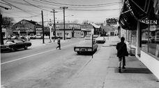 Bayville Avenue, the main street in Bayville, on