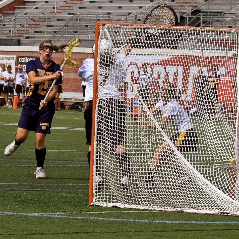 Northport's #22 Dorrien Van Dyke scores a goal.