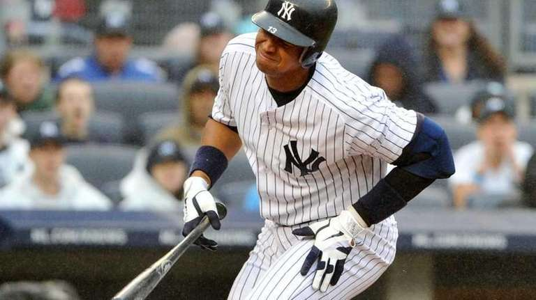 New York Yankees third baseman Alex Rodriguez (13)
