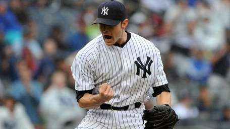New York Yankees relief pitcher David Robertson (30)