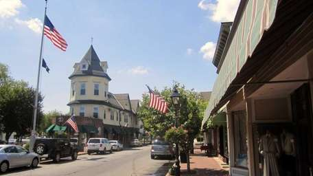 A view of downtown Amityville. (June 5, 2011)