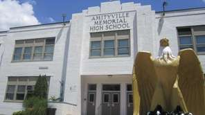 Amityville Memorial High School on June 5, 2011.