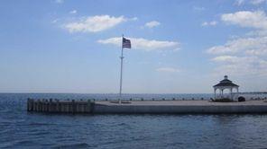 The Amityville beach is a popular summer location