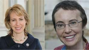 Rep. Gabrielle Giffords - before and after the