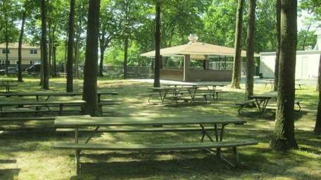 Fireman's Park includes a baseball field, a picnic