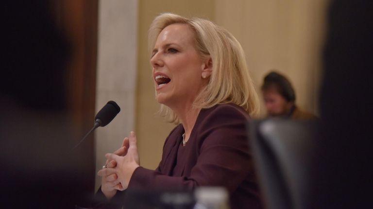 Homeland Security Secretary Kirstjen Nielsen testifies before the