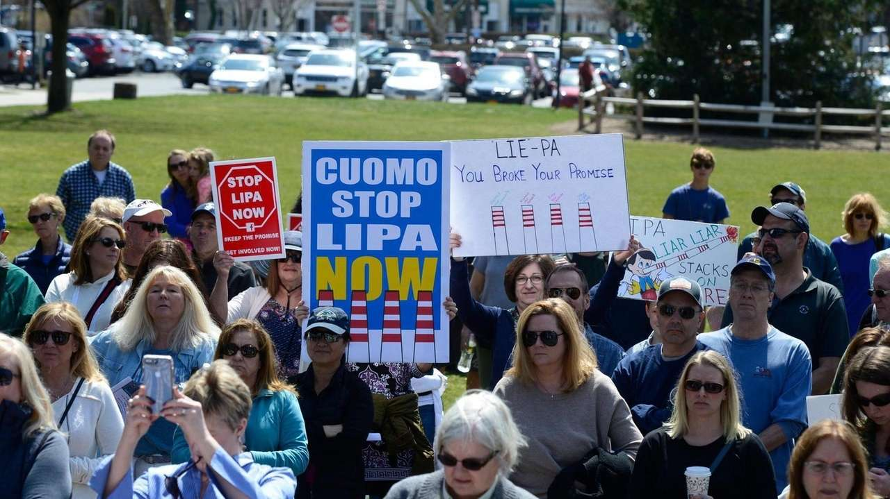 More than 100 Northport residents rallied with elected