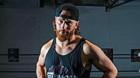 Professional WWE Wrestler Curt Hawkins in his Create-A-Pro