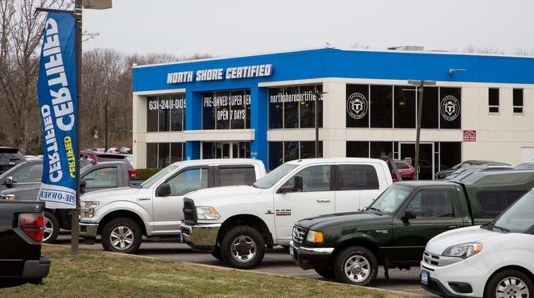 The North Shore Certified car dealership, on Route