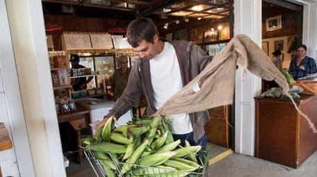 Clinton Applin, a farmer at Green Thumb Organic