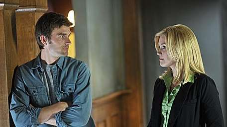 Lucas Bryant and Emily Rose in