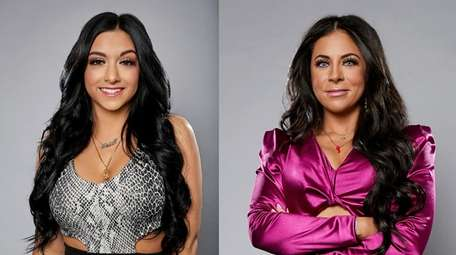 Two contestants from Long Island appearing on MTV's