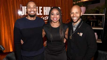 From left, Michael Arceneaux, Jemele Hill and Cole